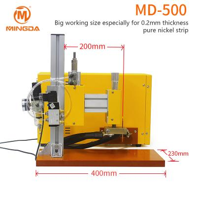 MD-500 precision energy storage DC battery spot welder machine